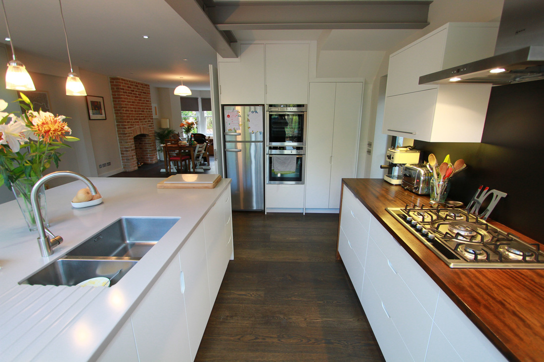 east dulwich road (kitchen) - ian dunn woodwork & design