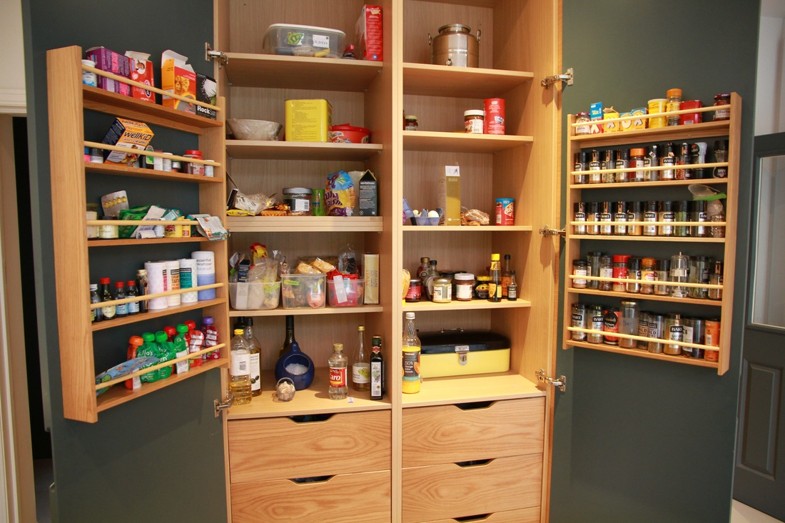 Picture. Larder Unit & Storage Inspiration - Ian Dunn Woodwork u0026 Design